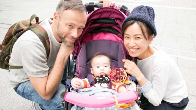 【スナップ!】中目黒〜代官山をお散歩♪ カジュアル好きなママのお気に入りママバッグは…