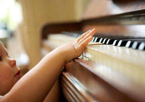 ピアノは男の子にも人気の習い事。音感を育てたいというママさんが多かったです