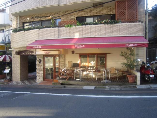 可愛らしい赤い屋根が目印。おしゃれな代官山にぴったりな、落ち着いた雰囲気の街のパン屋さんです