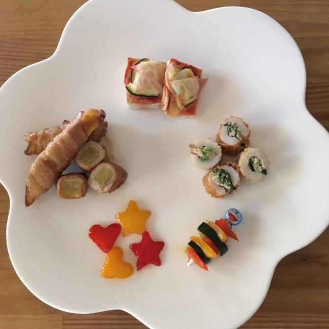 パプリカ&ズッキーニは、お弁当の彩りに欠かせない優秀野菜!