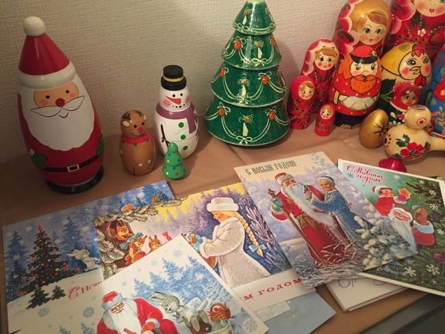 ロシアにとっては、クリスマスよりもお正月の方が大イベント。ですが、似たような伝統やモチーフも…