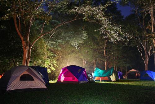寒すぎず暑すぎないベストシーズンなら、テント泊にチャレンジを!