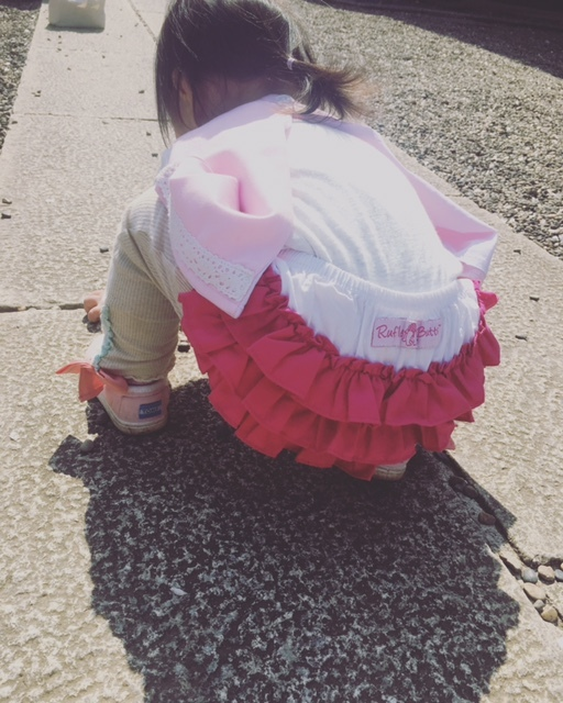 女子らしいファッション小物に、ママもテンションアップ♡