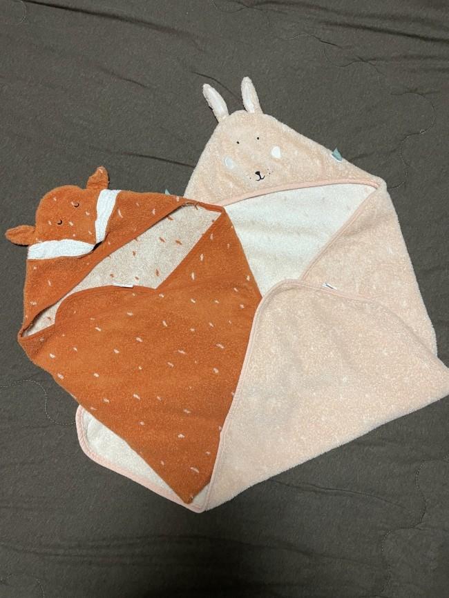 ベルギー発の新ブランド「トリクシー」から、夏に大活躍のフード付きタオルをご紹介します!