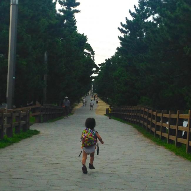 普段と違う公園で遊べた子供、知らない街を散策できたわたし、どちらにも忘れられない1日になりました