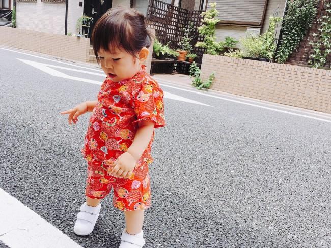甚平は、お下がりでもらったりママが子供の頃着ていたものを着せている、という声も!