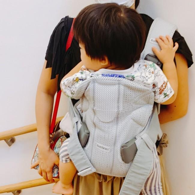 毎日の抱っこがキツくなくなって、わたしも息子も大満足♪