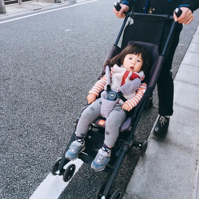 歩くことも増えてきたので、コンパクトで実用性の高い二代目ベビーカーを探していました♪