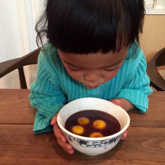 ほっとあったまるぜんざい。作るから食べるまでを、親子でゆっくり楽しんでください