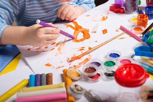 感性を育てる、絵画・造形教室。子どもの作品って素晴らしいですよね!