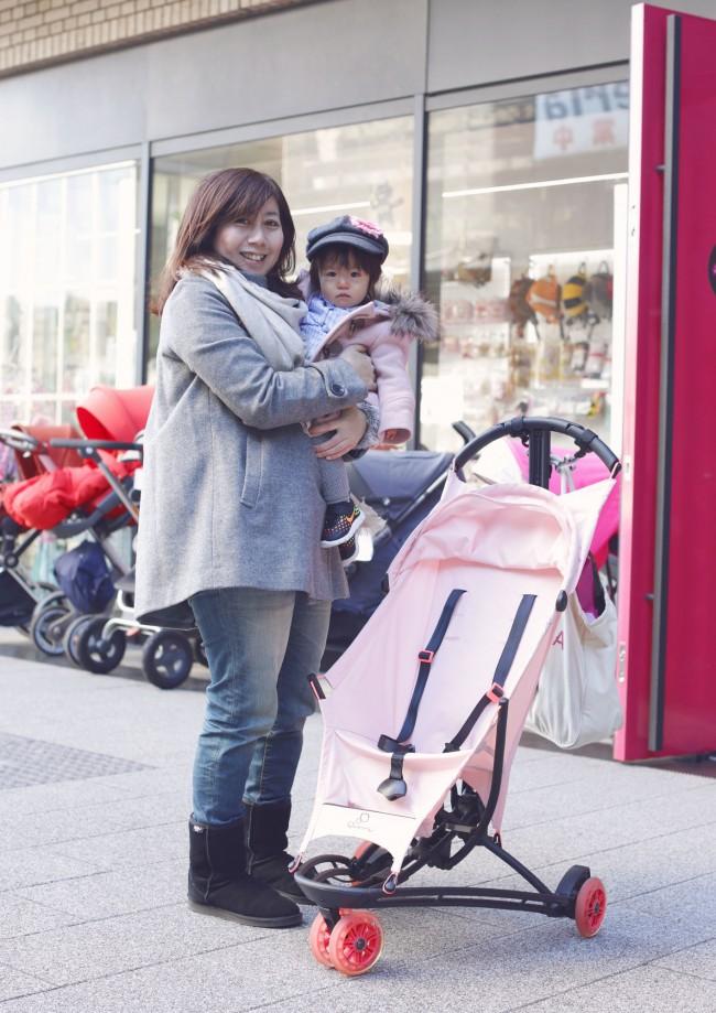 鈴木梨香さん・里歩ちゃん(1歳3ヶ月)