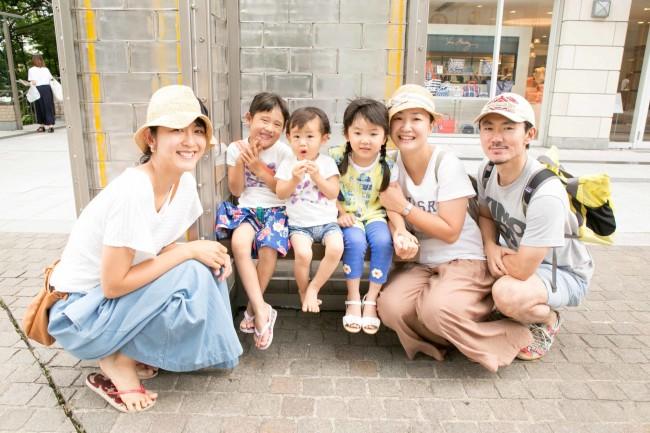 武蔵小杉のグランツリーや、二子玉川のライズなどにもよく行くというご家族。またぜひ代官山にも遊びに来てくださいね!