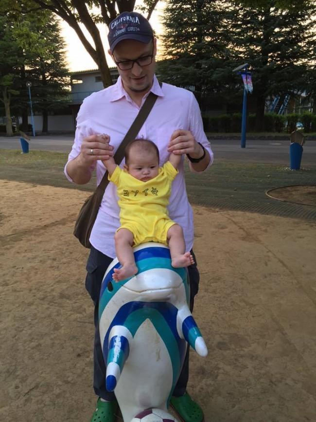 我が家はパパが息子を連れて公園に行くことが多いです♪
