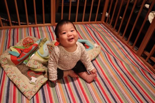 ベビーに危険なものを部屋から排除するのは難しいもの。サークル内なら、ママも安心です
