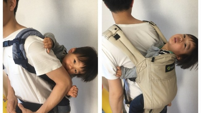 《1歳を過ぎたら…》我が家が、エルゴからボバに抱っこひもを切り替えた理由は? 写真で比べてみました