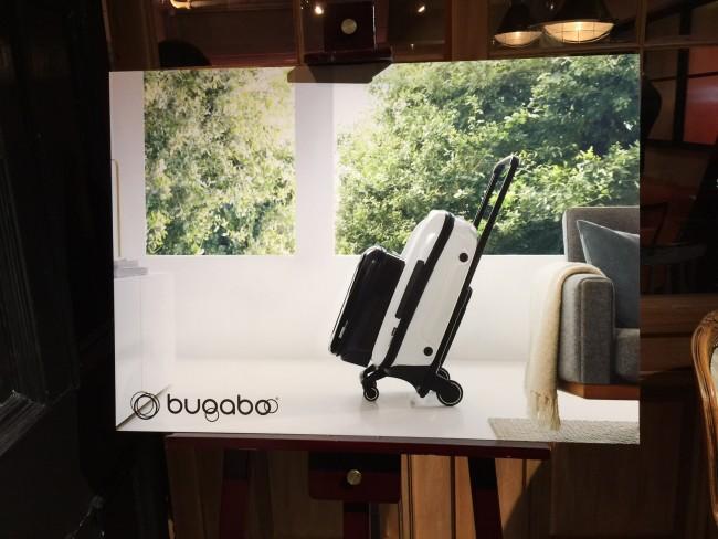 こちらがバガブー ボクサー。これがBugabooの提案する、ラゲージの新常識です