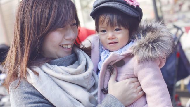 【mama snap!】ピンクがお似合い♡ 個性的バギーは街中で大人気!