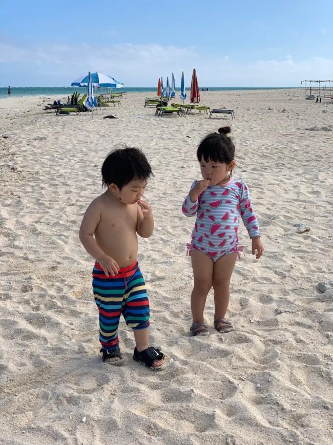 ナイキのサンダルとの2足使いで、海や水遊びに出かけています