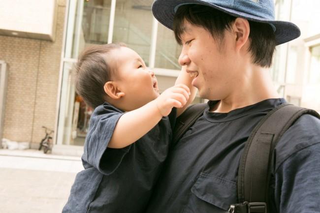 パパとも仲良しの聡介くん。車で東京に遊びにきてくれたそう♪