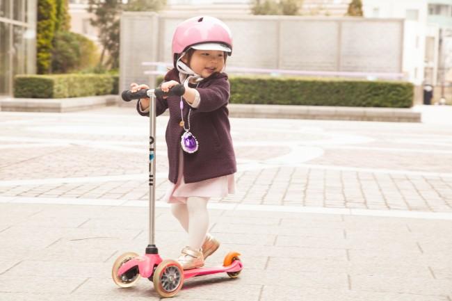 こちらはスイスのメーカーm-cro(ミニマイクロ)。小さなねねこちゃんが乗り回す姿は本当にかわいい!