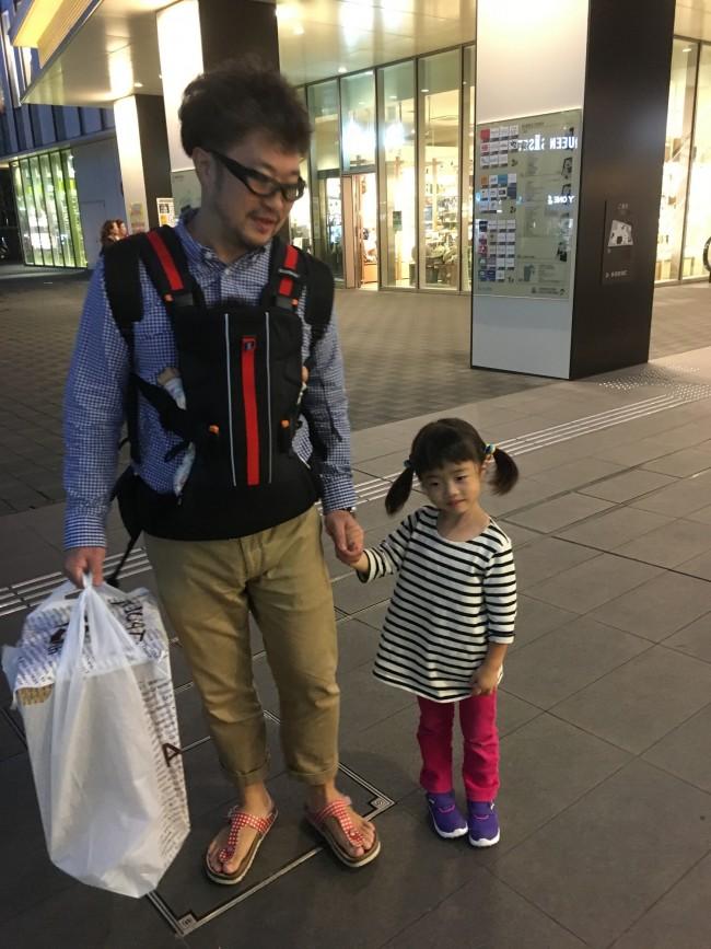 出勤時に子供の送り迎えする働く父ちゃんにも違和感のないデザイン!