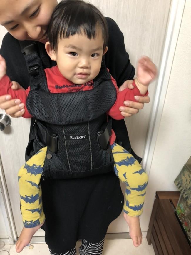 2歳が近づく今も、エルゴとビョルンどちらも大好きな息子。抱っこの時間も愛おしいものです♡