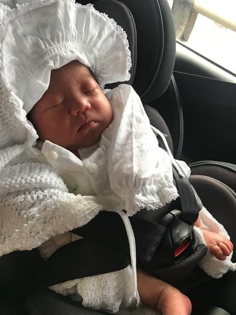 はじめての車に、息子も緊張!?