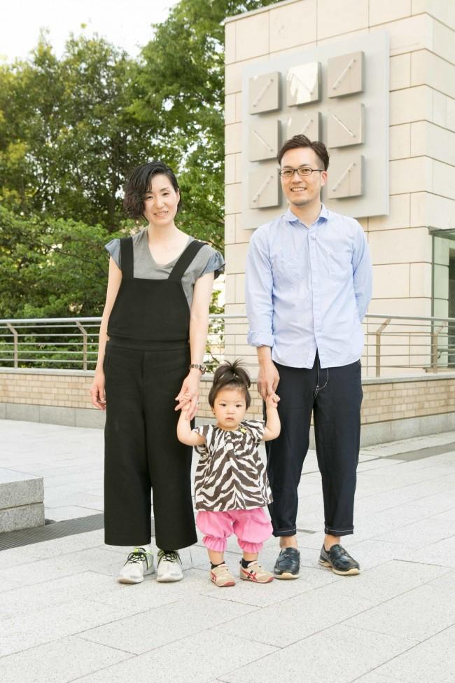 小橋美代子さん・湊ちゃん(1歳5ヶ月)