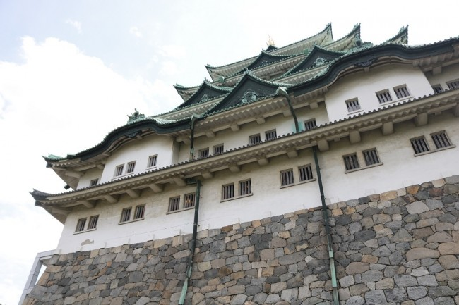 観光で行った名古屋城は、本当に圧巻でした!