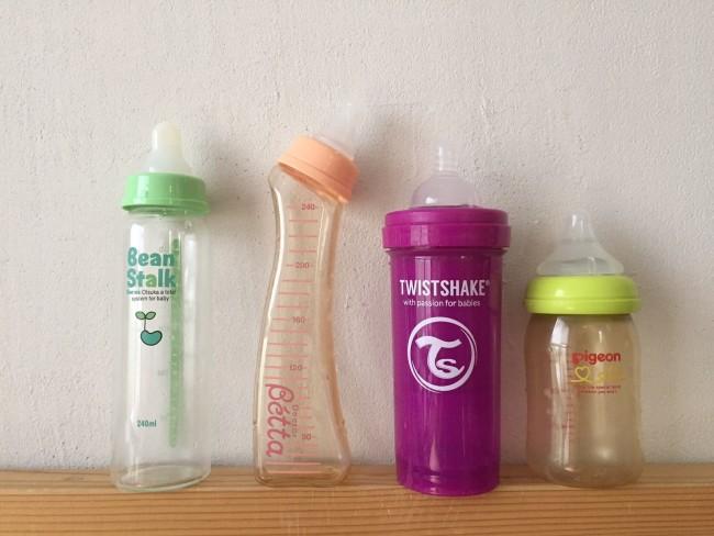 哺乳瓶や離乳食セットって、使う?使わない?