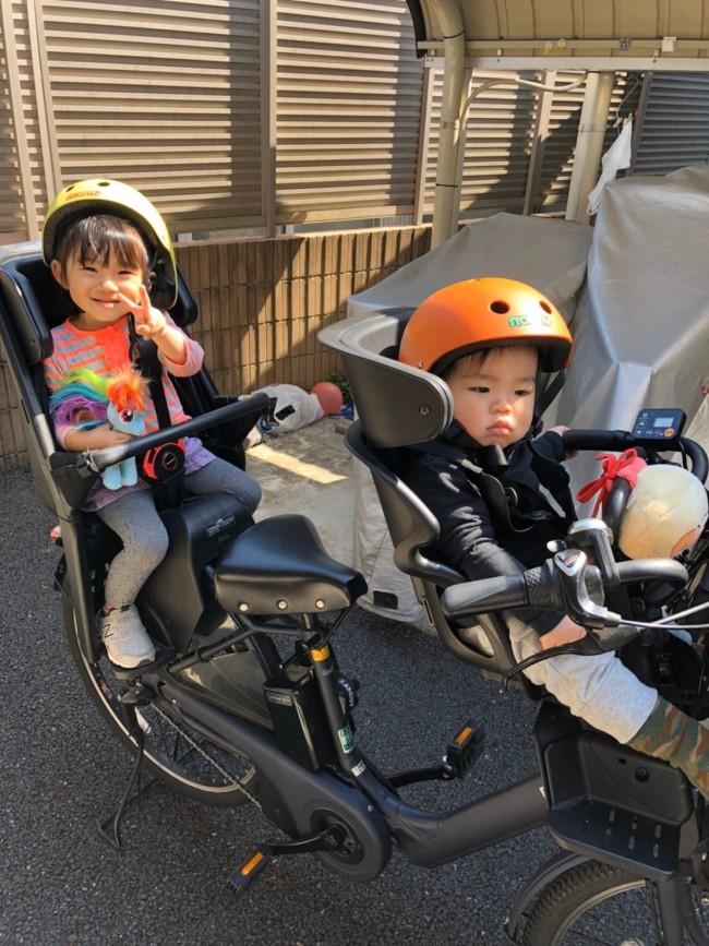 長女1人育児のときは、電動でなくてもなんとか漕げていたのですが、2人乗せとなるとそうはいかないはず!