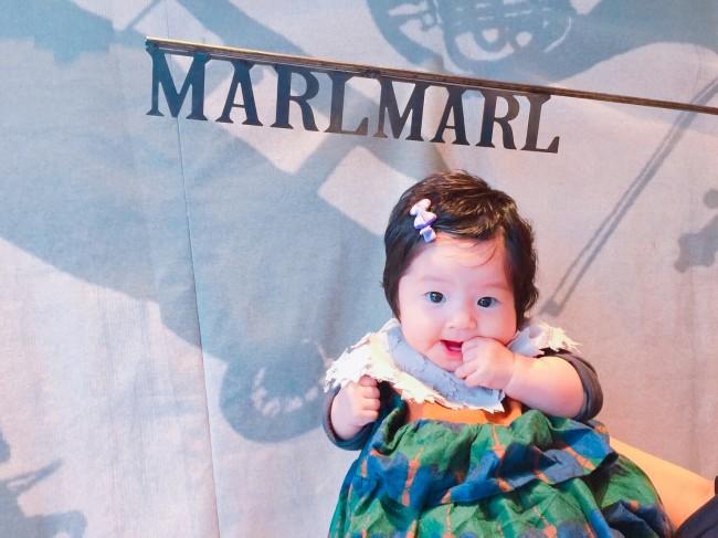 可愛くって大好きなブランド、MARLMARL。新作展示会に、娘と遊びに行ってきました♪