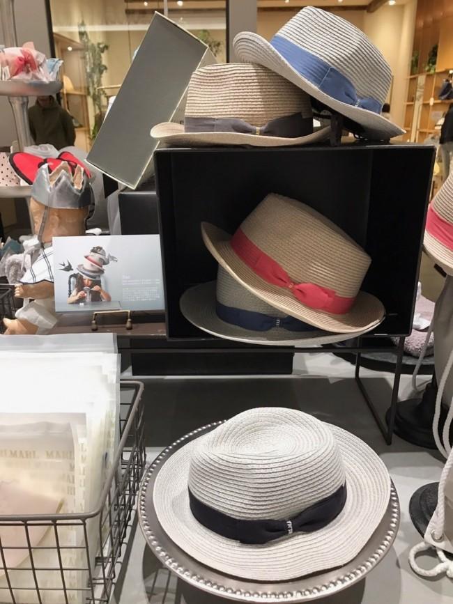 新作のハットやベレー帽は、ベビー&キッズの2展開。キッズはママでもかぶれるかも!?
