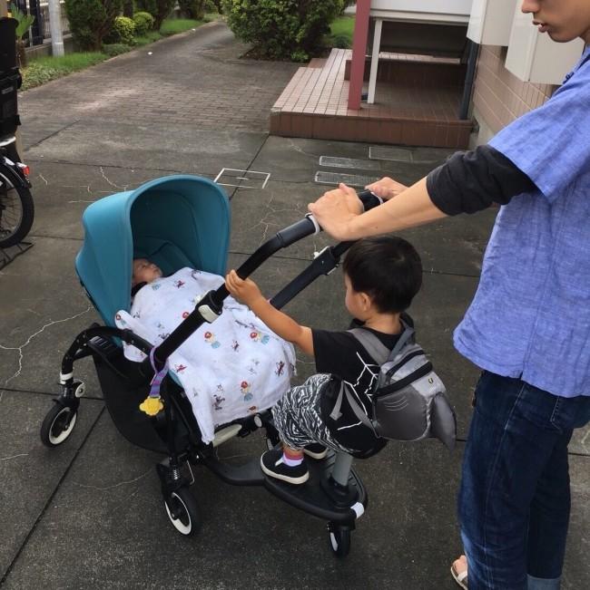 お出かけストレスが激減! 息子も楽しそうに乗ってくれています