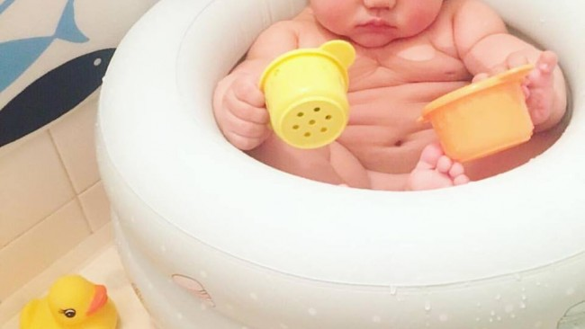 《沐浴にも、兄弟入浴にも…》買っておいて損はない! 長〜く使えてかわいい、最新ベビーバス事情♪
