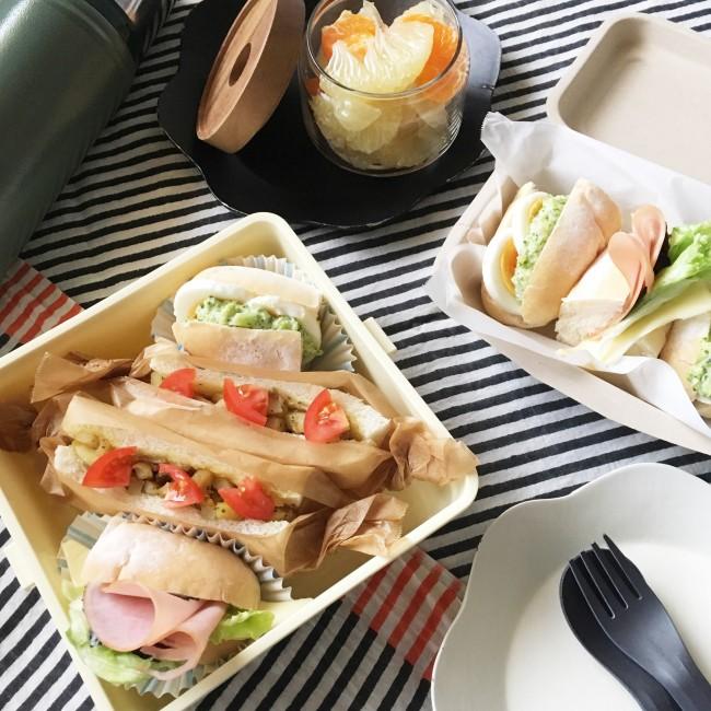 特別な食材や調理法はなし! ちょっとしたアイディアで、美味しくて春らしいサンドイッチに♡