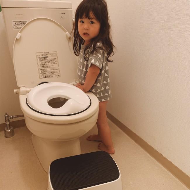 本格的なトイトレデビューをした娘。これからトイトレを始める親子の参考になればと思います♪