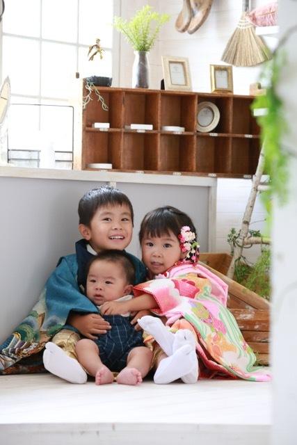 お気に入りは、やっぱり三兄弟の写真! 明日からの子育ての力になるような、素敵なショットが撮れました♡