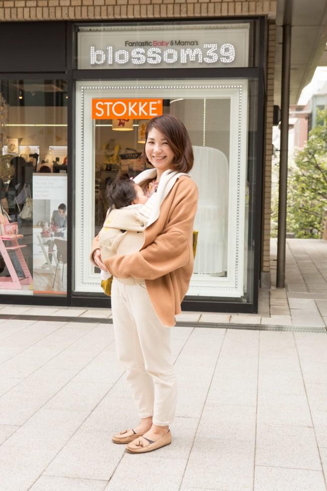 赤柴佳穂さん、和ちゃん(6ヶ月)