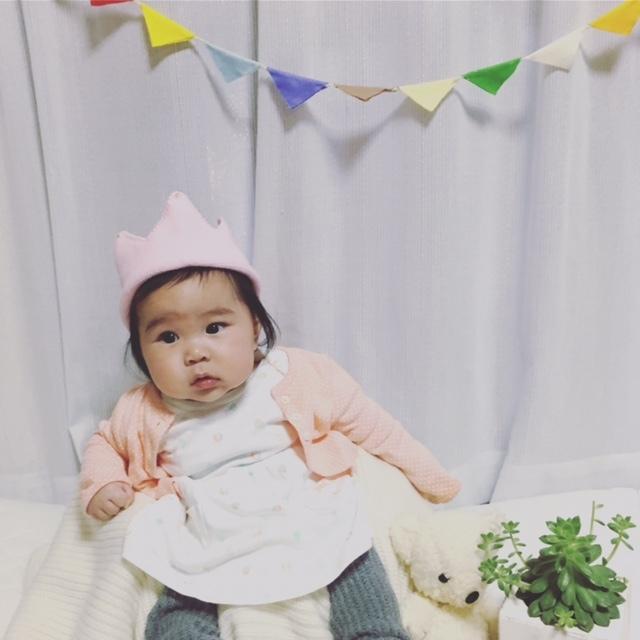 たまらなくかわいい王冠♡ お誕生日などにもぴったりですね!