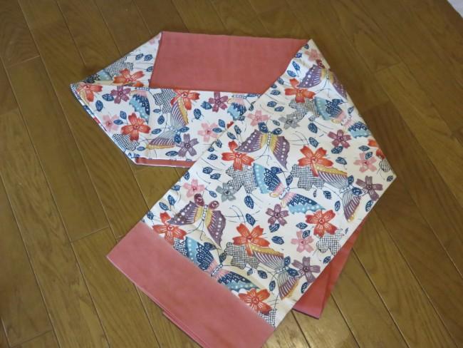 名古屋帯は、普段着の帯。式典には不向きです