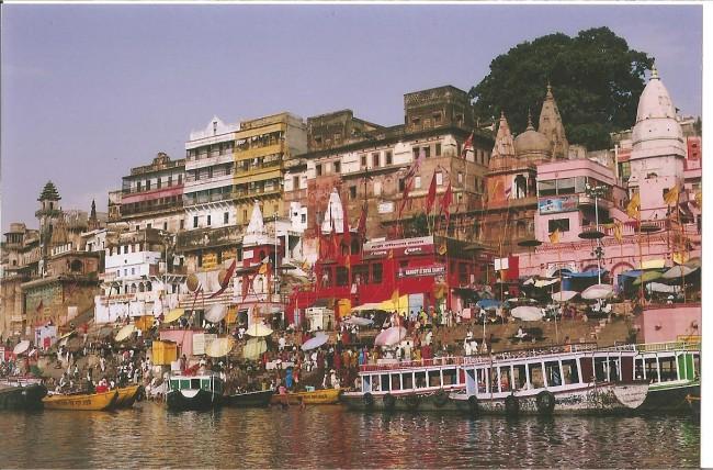じめっとした暑さは、インドを旅したときのことを思い出します