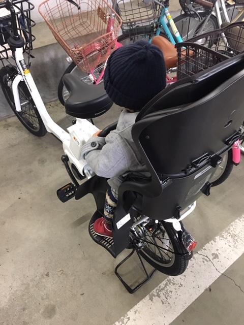 自転車の運転に自信がなかったため、より安定する後ろ乗せが希望