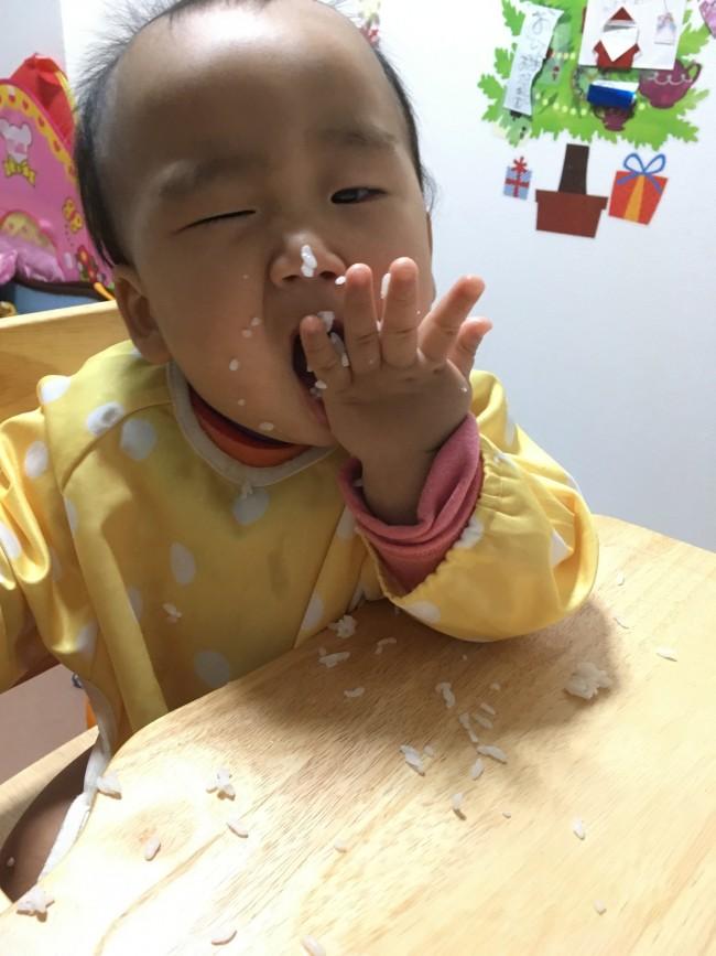 とにかくたくさん食べる息子。離乳食作りも大仕事です