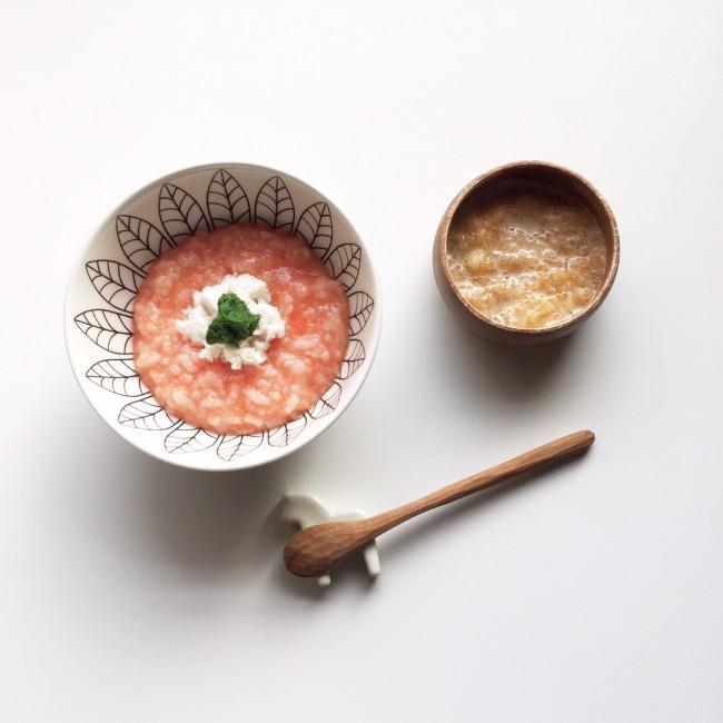 トマトをプラスすると、イタリア〜ンな見た目に。目で見て楽しい!というのも、食事の大切な要素ですね