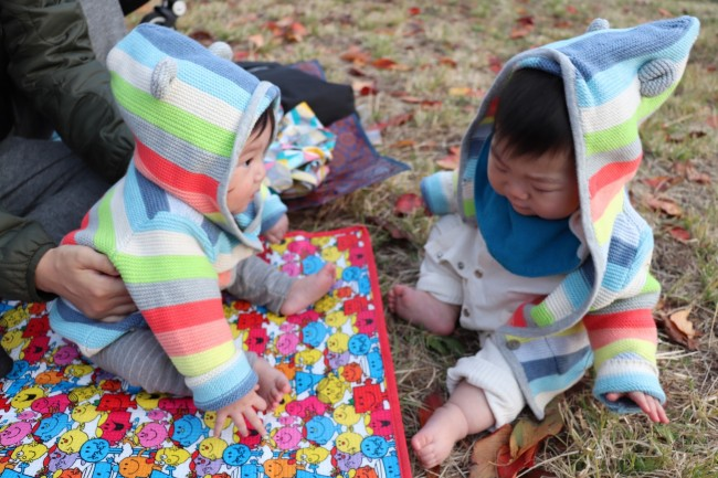 仲良しママ&ベビーとは、代官山ショッピング率多め。買い物後は、西郷山公園コースが定番!