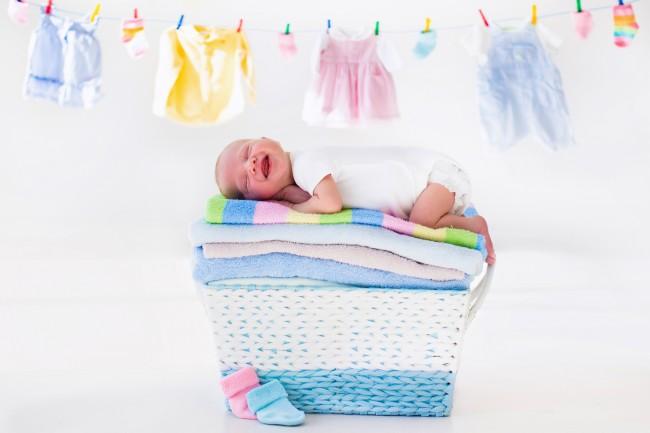 子どもの肌に触れる衣服の洗濯には、気を使いますよね。ダメージが少ないお洗濯のコツをお教えします!