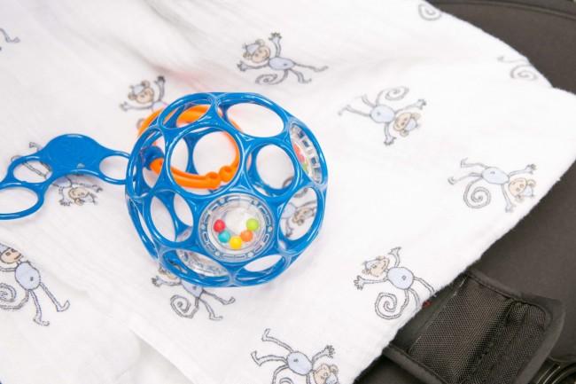 お気に入りおもちゃは、ほとんどのベビーが持っているオーボール!