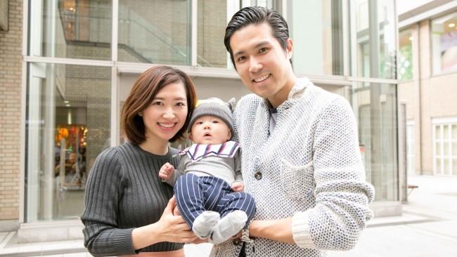 【family snap!】この冬のベビーファッションは、シンプルな色使い+ユニークな小物使いで個性を出そう♡