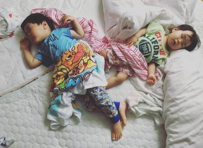 お昼寝している寝顔、とっても可愛いですよね♡ ママもほっと一息つける時間です